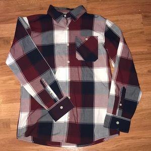 Urban Pipeline boys large button down shirt